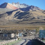 au pied du volcan Tunupa