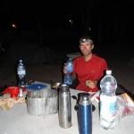 au camping de la vina