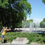 place centrale de Mendoza