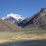 dans le parc de l'Aconcagua