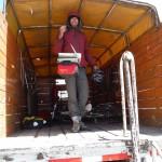 passage en camionnette